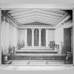 Άποψη του εκθεσιακού χώρου του Νομισματικού Μουσείου στη Σιναία Ακαδημία