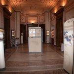 Άποψη του εκθεσιακού χώρου του Νομισματικού Μουσείου στο δεύτερο όροφο του Ιλίου Μελάθρου
