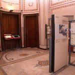 Η αίθουσα για το Νόμισμα στο Ρωμαϊκό Κόσμο στο δεύτερο όροφο του Ιλίου Μελάθρου