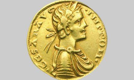 Xρυσός augustalis του αυτοκράτορα Φρειδερίκου B΄, Brindisi. ΝΜ 84/2000