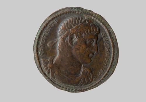 Xάλκινο «μετάλλιο» Kωνσταντίνου A΄. ΝΜ 131/1997