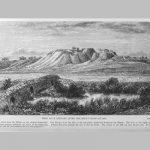 Άποψη της Τροίας μετά την ανασκαφή του Σλήμαν το 1879