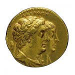 Οκτάδραχμον Πτολεμαίου Β΄ Φιλαδέλφου (285-246 π.Χ.). --- ΝΜ Συλλογή Δημητρίου