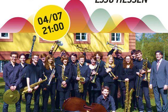 Η Junior Band LJJO Hessen στον κήπο του Νομισματικού Μουσείου με Jazz και όχι μόνο!